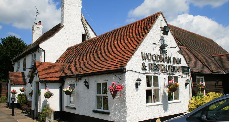 The Woodman Inn Pub Building